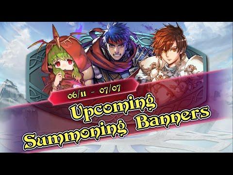 Upcoming Summoning Banners
