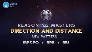 IBPS RRB PO | Direction and Distance | Reasoning | Online Coaching for SBI IBPS Bank PO