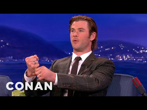 Chris Hemsworth Disses Thor's Hammer from YouTube · Duration:  39 seconds