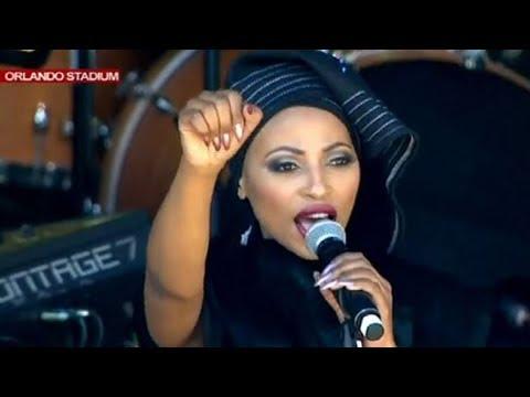 """""""Viva The Legend, Viva Nomzamo"""" - Zonke Dikana paying tribute in song to Mama Winnie"""
