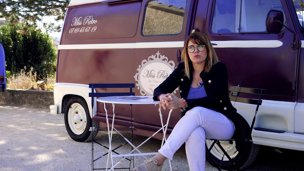 Miss Rétro, le salon de coiffure mobile