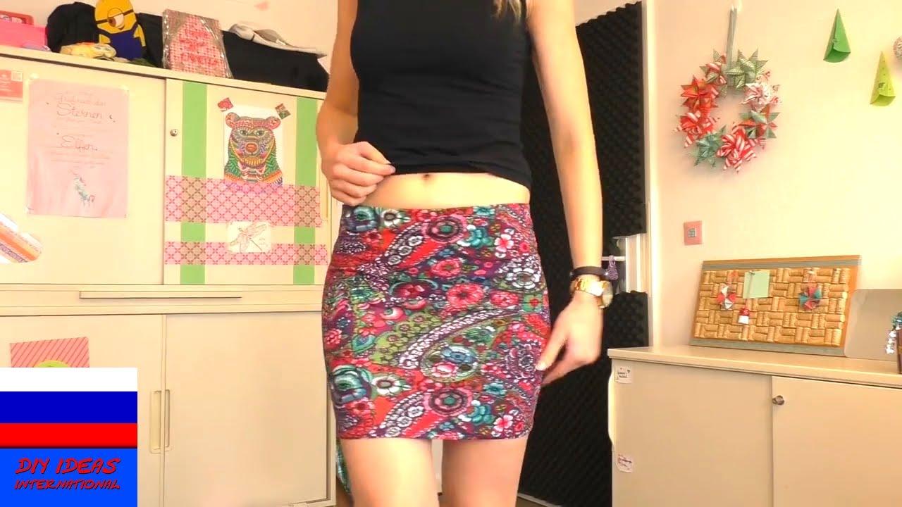 Топ из старой юбки