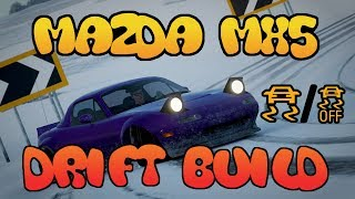 Forza Horizon 4 : Drift Build ( MX-5 / MIATA) 450HP+ FULL BUILD