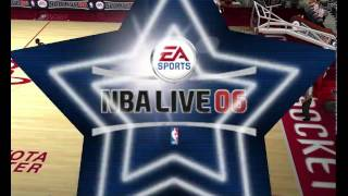 NBA Live 06 PC Gameplay (cleveland cavaliers vs houston rockets)