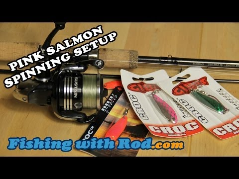 HOW TO SET UP A SPINCASTING RIG FOR PINK SALMON FISHING | Fishing With Rod