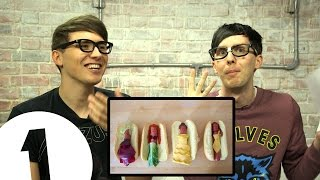 DISNEY PRINCESS HOT DOGS! Dan & Phil