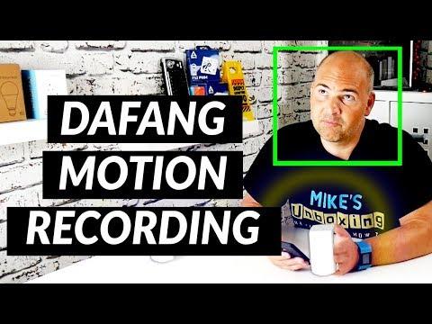 Xiaomi DAFANG Setup Motion Only Recording - YouTube