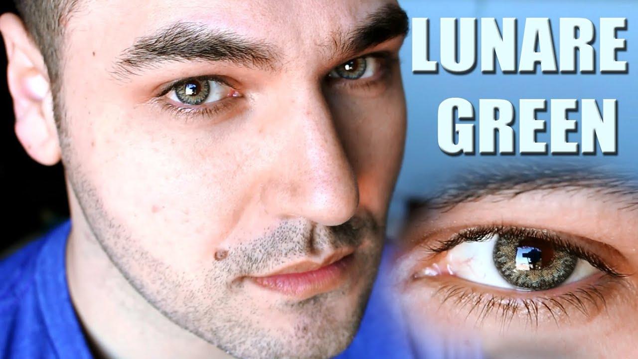 df41d020c Lentes de Contato Coloridas | Bausch Lomb LUNARE - Green - YouTube