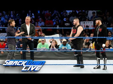 Thumbnail: Shane McMahon calls Kevin Owens & Sami Zayn to the ring to fire them: SmackDown LIVE, Nov. 21, 2017