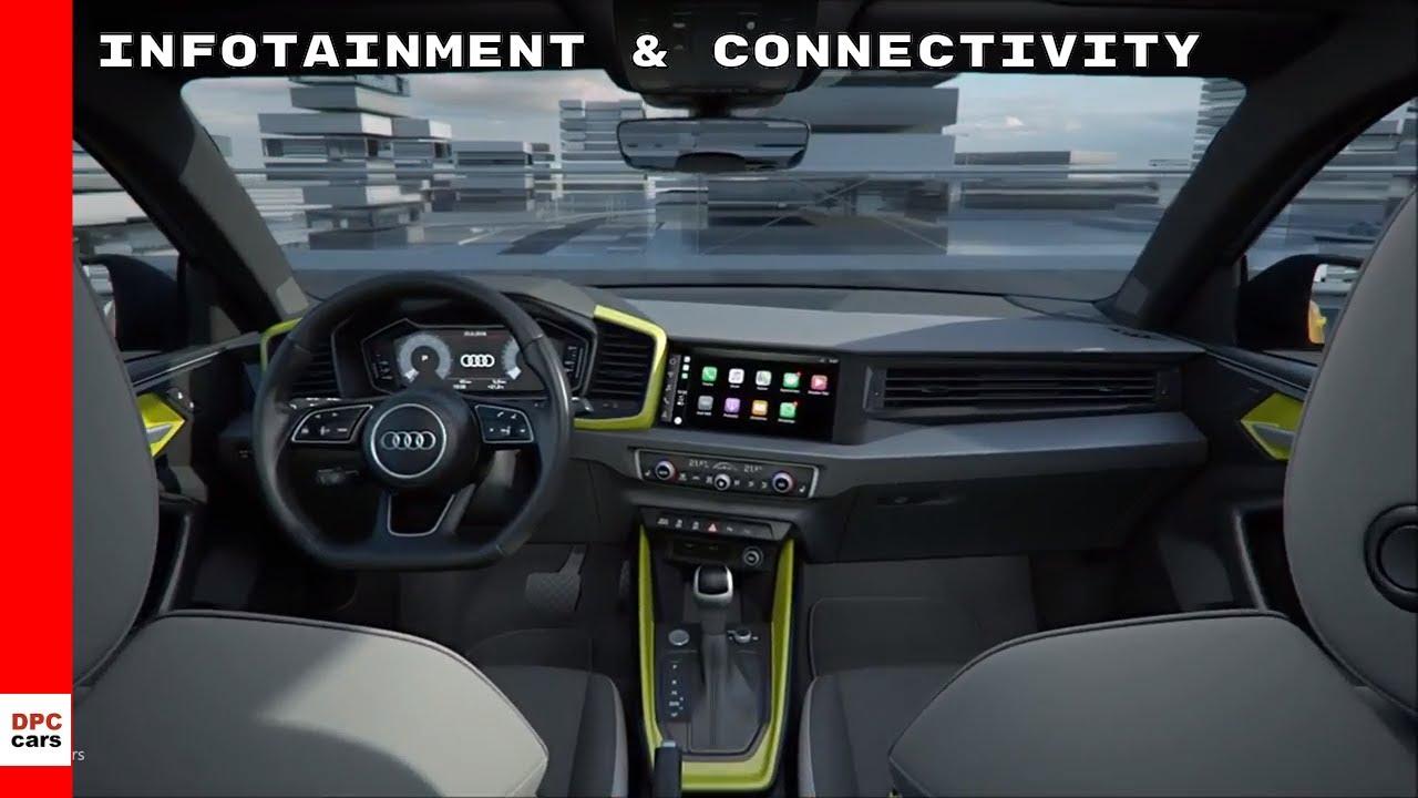 2019 Audi A1 Sportback Infotainment & Connectivity LED Headlights