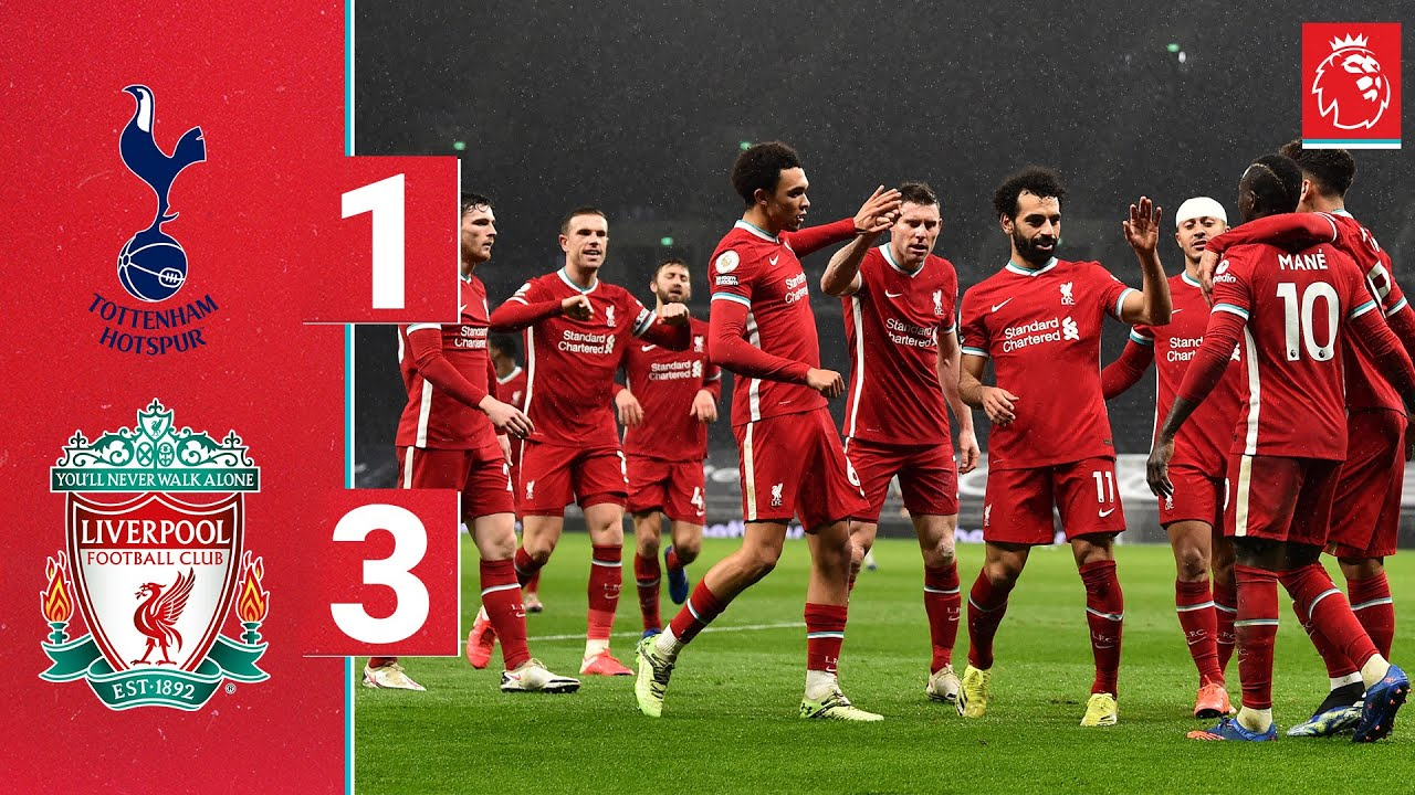 Highlights: Spurs 1-3 Liverpool | Firmino, Trent & Mane on target for emphatic Reds