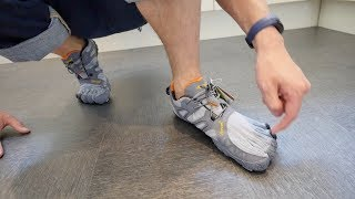 Unboxing Vibram Fivefinger V-Trail: Comparison + why i am sending them back