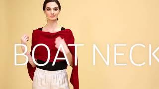 Everyday Cashmere - How to Wear a Shrug - 5 Ways
