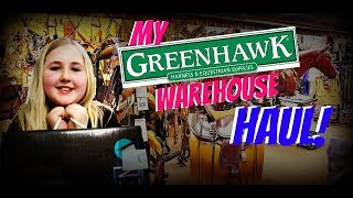 MY GREENHAWK WAREHOUSE SALE TACK HAUL