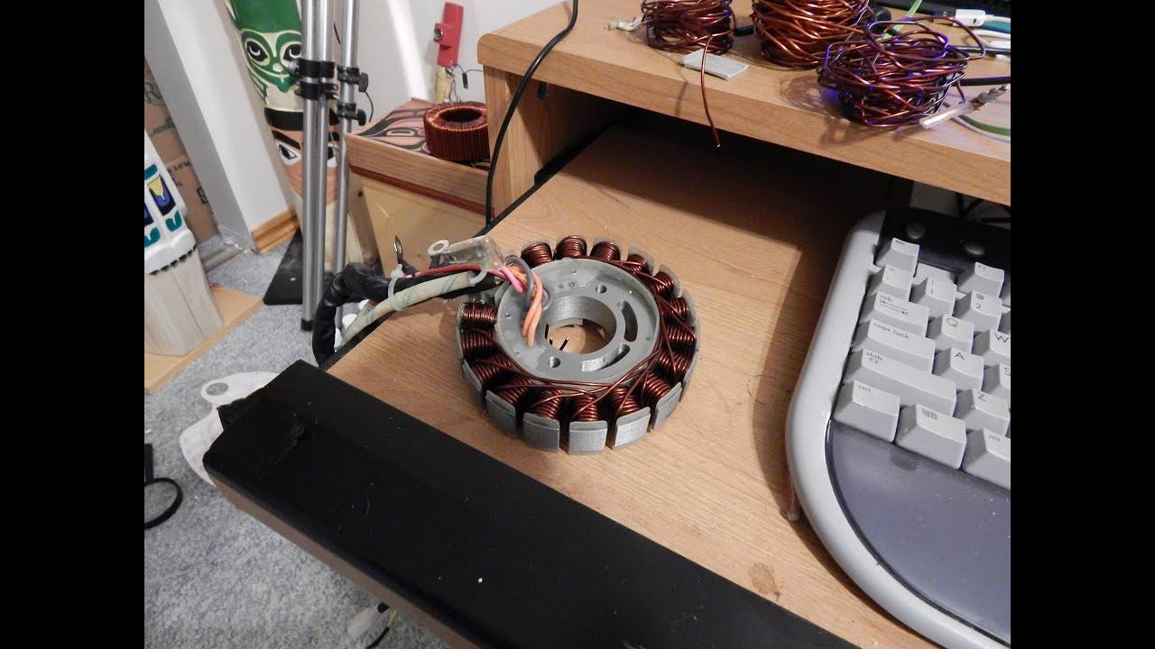 stator rewind*generac ix800*