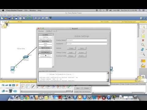 Cisco Packet Tracer Using RIP Protocol