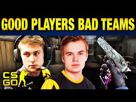 Top 10 Best CS:GO Players On Bad Teams