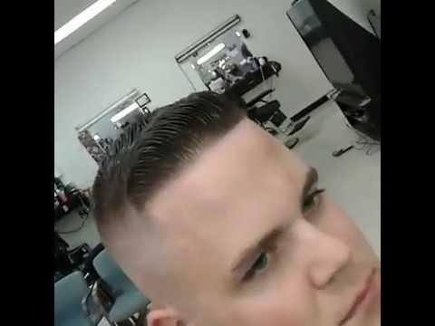 Military Air Force Men Haircut Youtube