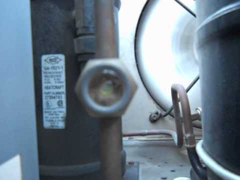 How to Tell if Your Refrigeration system is Low on Refrigerant???