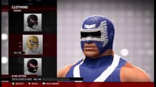 WWE 2K16:AERO STAR CAW FORMULA(XBOX 360/PS3)