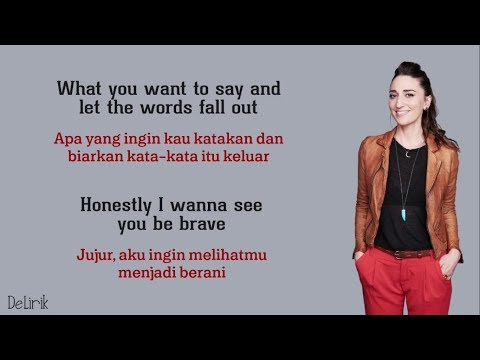 Brave - Sara Bareilles [Mary Desmond Cover] - Lyrics video dan terjemahan