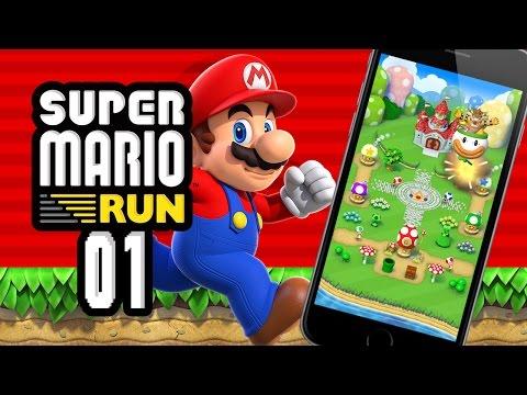 SUPER MARIO RUN FR #01 - LE PREMIER MARIO SUR MOBILE !