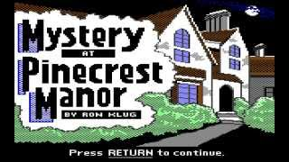C64 Longplay: Double Feature - Mystery at Pinecrest Manor