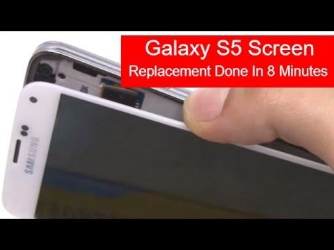 How To Replace Galaxy S5 Screen in 8 Minutes