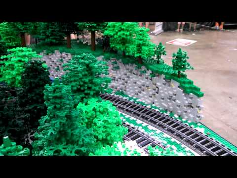 LEGO Blue Mountain & Reading #425 @ Brickworld 2015
