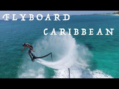 Flyboard in Caribbean (4K): Cayman Islands (SWSCayman)