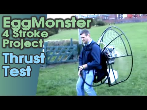 GX390/420 EggMonster. Full Power Test