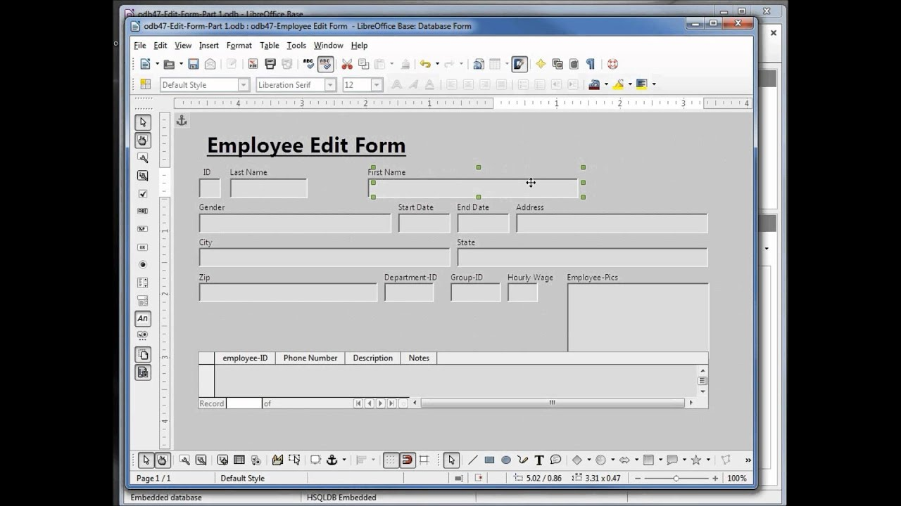 how to search for words in libreoffice