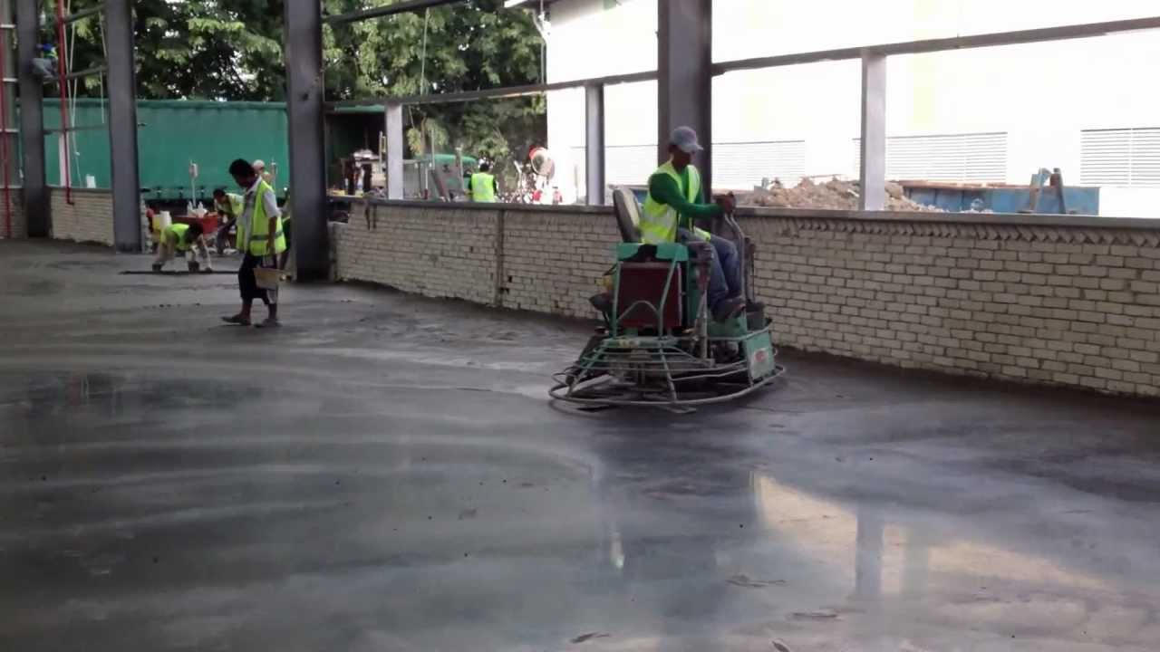 Flat Floor Burnish Finished Nestle Malaysia Youtube
