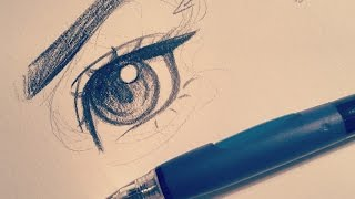 How I Draw an Eye!