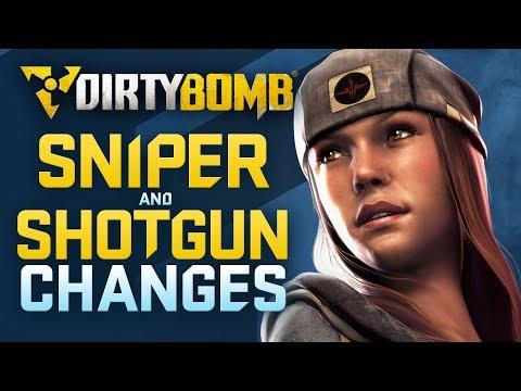 Dirty Bomb: Sniper and Shotgun Changes