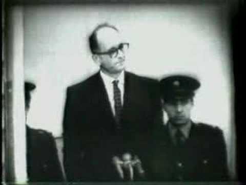 Eichmann Trial for Holocaust Crimes 1961/04/13