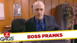 Boss Pranks - Best of Just For Laughs Gags