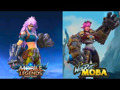 Mobile Legends VS Wild Rift League Of Legends