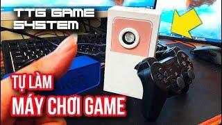 TỰ LÀM MÁY CHƠI GAME TỪ VỎ HỘP IPHONE - Chơi NES, SNES, GBA, NDS, PS1 !!!