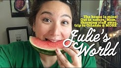 Julie's World Vlog: July 30 - August 5, 2018