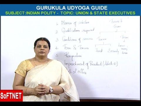 GURUKULAM       Indian Polity - Union & State Executives     T. Deepika Reddy