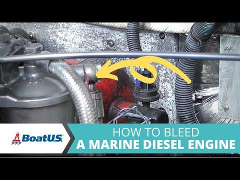 How To Bleed A Marine Diesel Engine | BoatUS