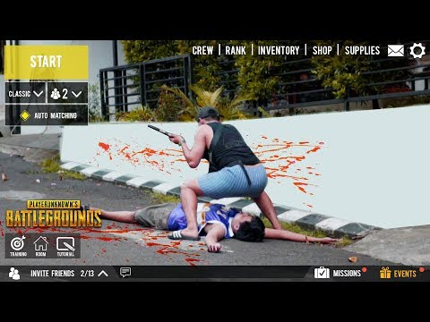 PUBG IN REAL LIFE - Dat Ass