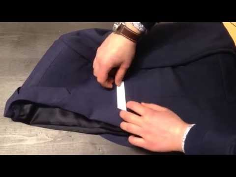 lommetørklæde til jakkesæt foldning