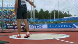 Conor McCullough World Junior Hammer Throw Champion 2010