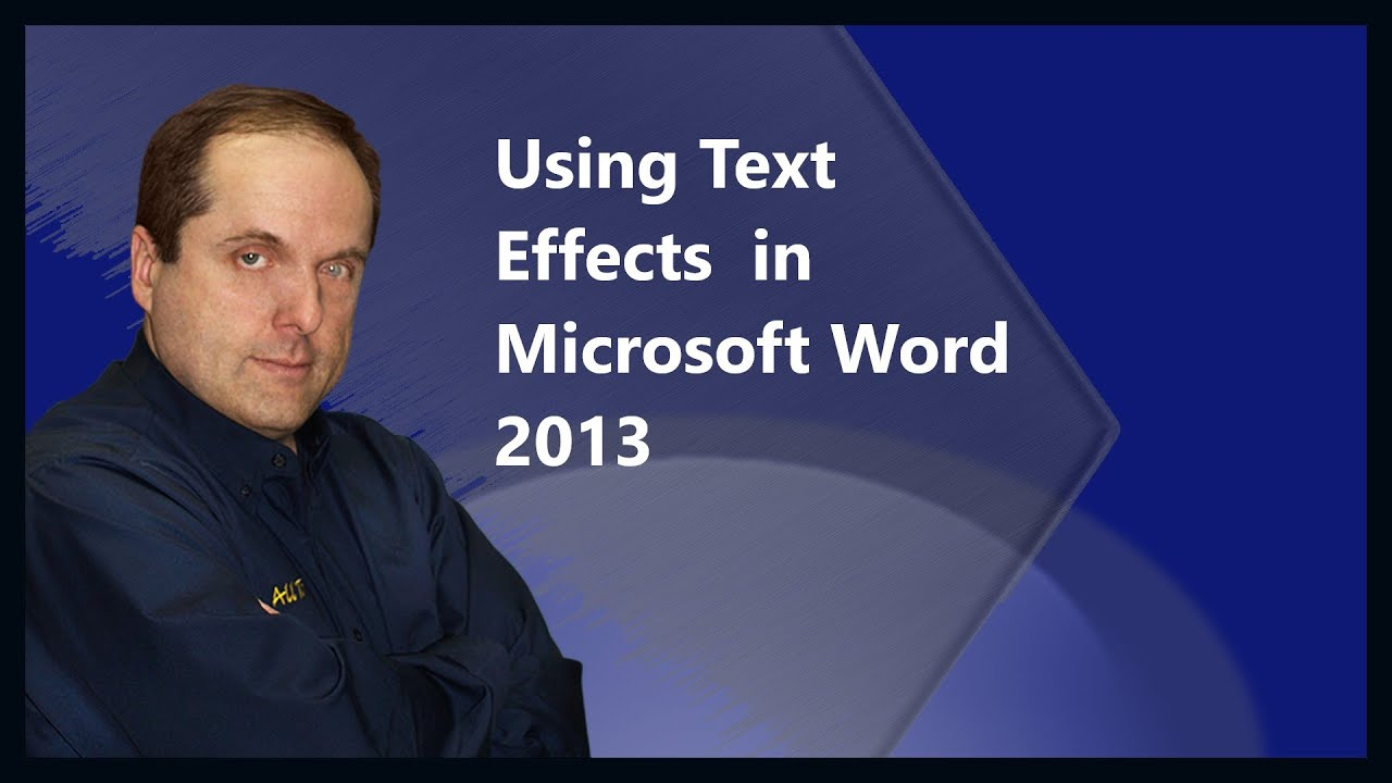 how to add shadow to text in word 2013