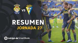 Resumen de UD Las Palmas vs Cádiz CF (1-2)