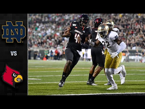 Notre Dame vs. Louisville Football Highlights (2019)