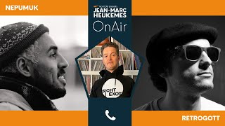 Nepumuk und Retrogott im Interview mit Jean-Marc Heukemes OnAir - präsentiert von recordJet