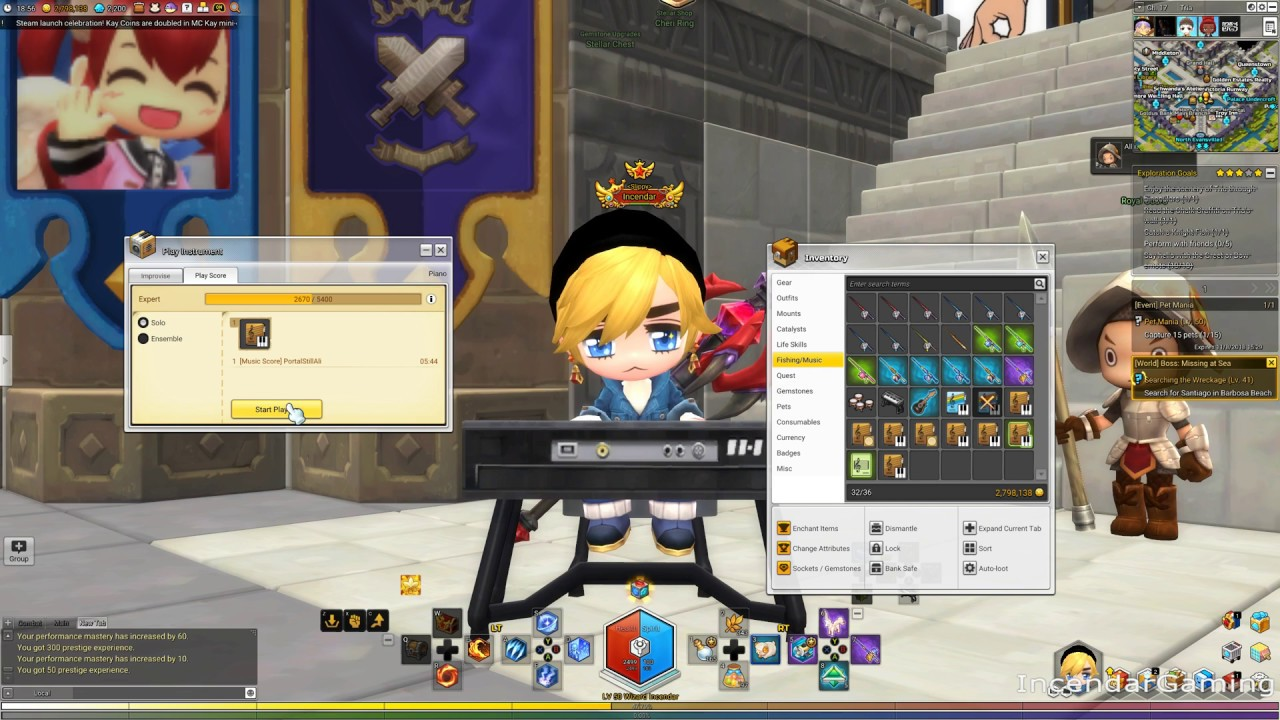 1 Minute Music Importing to Maplestory 2 for beginners Easy download zip no third party software!